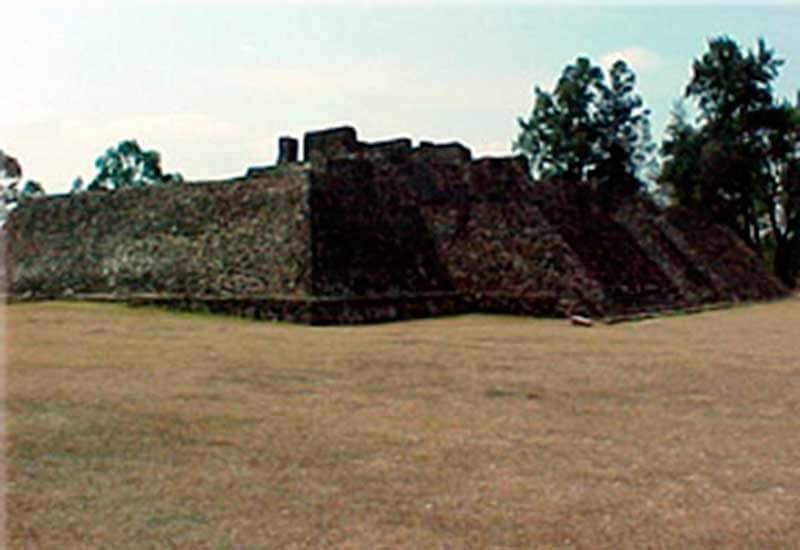 Archaeological Zone Teopanzolco Morelos